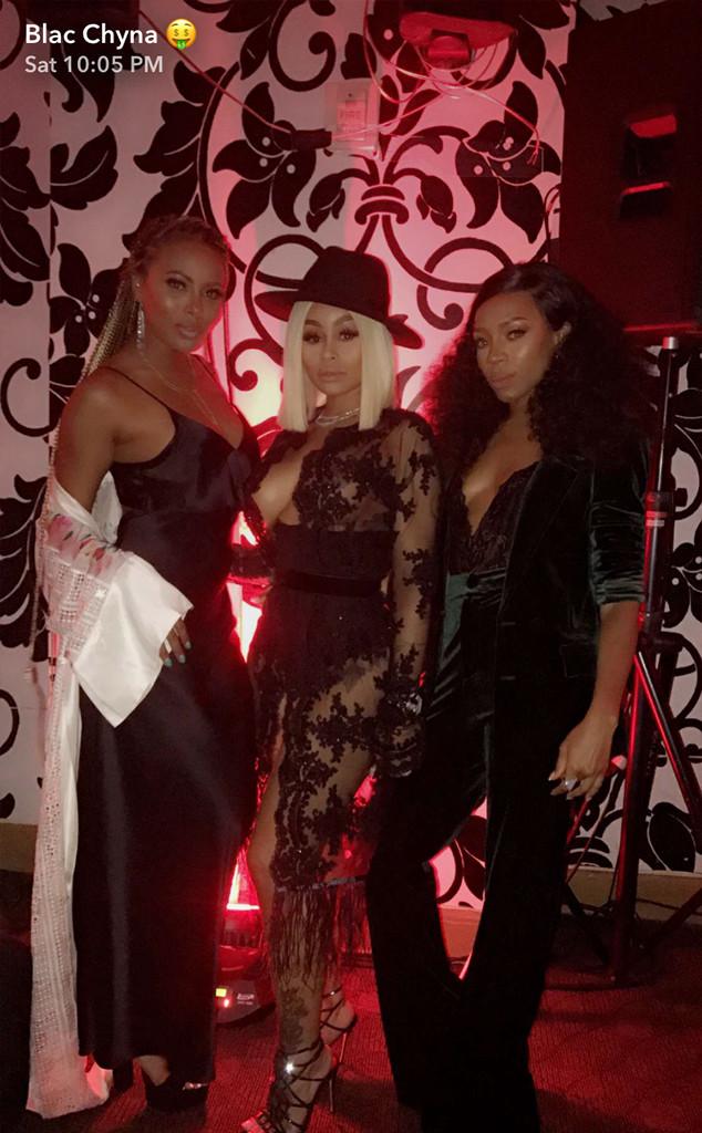 Blac Chyna, 2017 Maxim Hot 100 Party