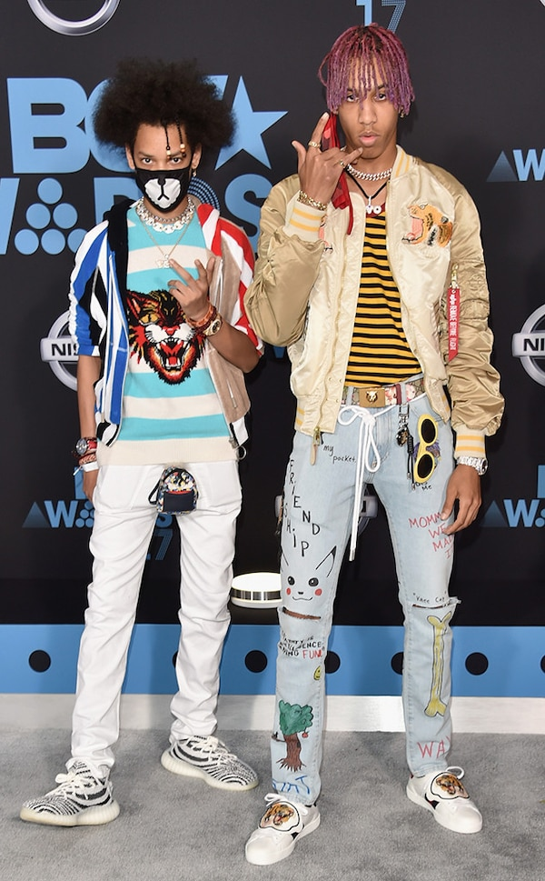 Ayo & Teo From BET Awards 2017 Red Carpet