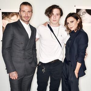 David Beckham, Brooklyn Beckham, Victoria Beckham