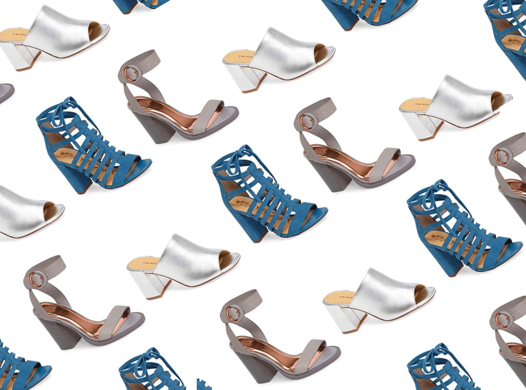 20 Pairs of Block Heels That Are Beyond Easy to Walk In | E