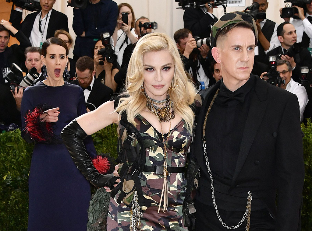 Sarah Paulson, Madonna, Jeremy Scott, Celebrities Fangirling