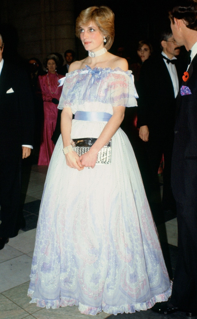 ESC: Princess Diana, Off-the-Shoulder