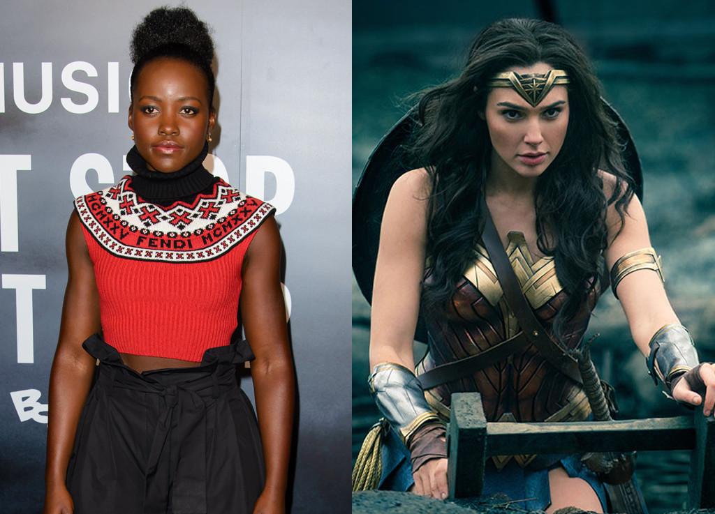 Wonder Woman, Gal Gadot, Lupita Nyong'o