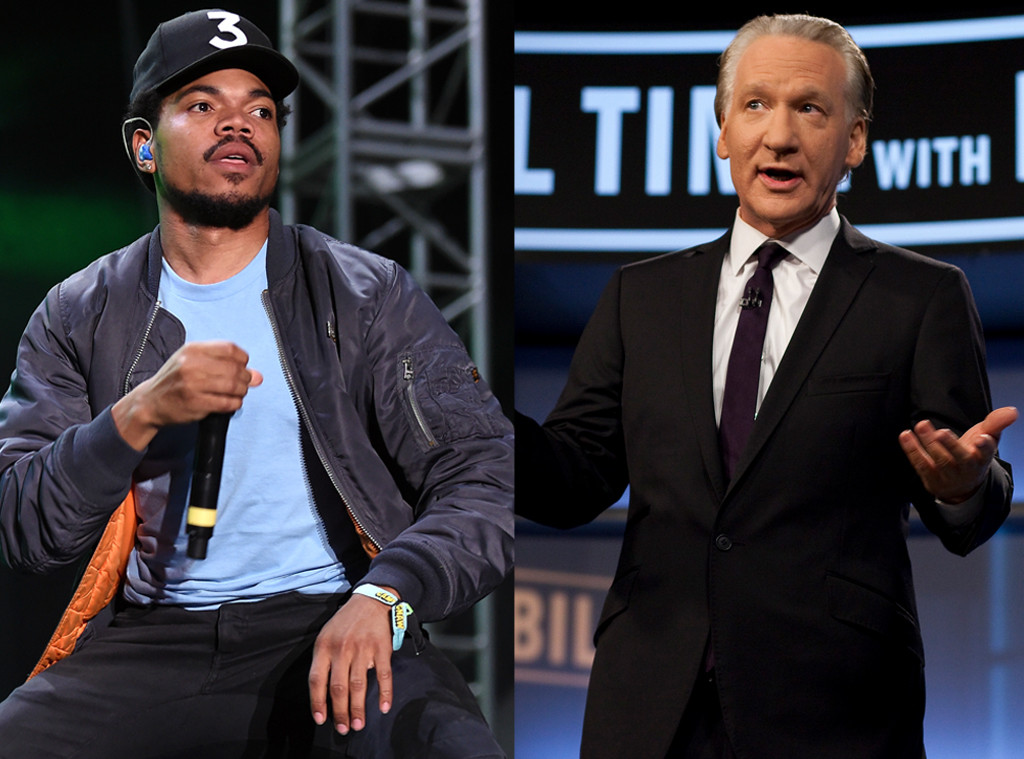 Bill Maher, Chance the Rapper