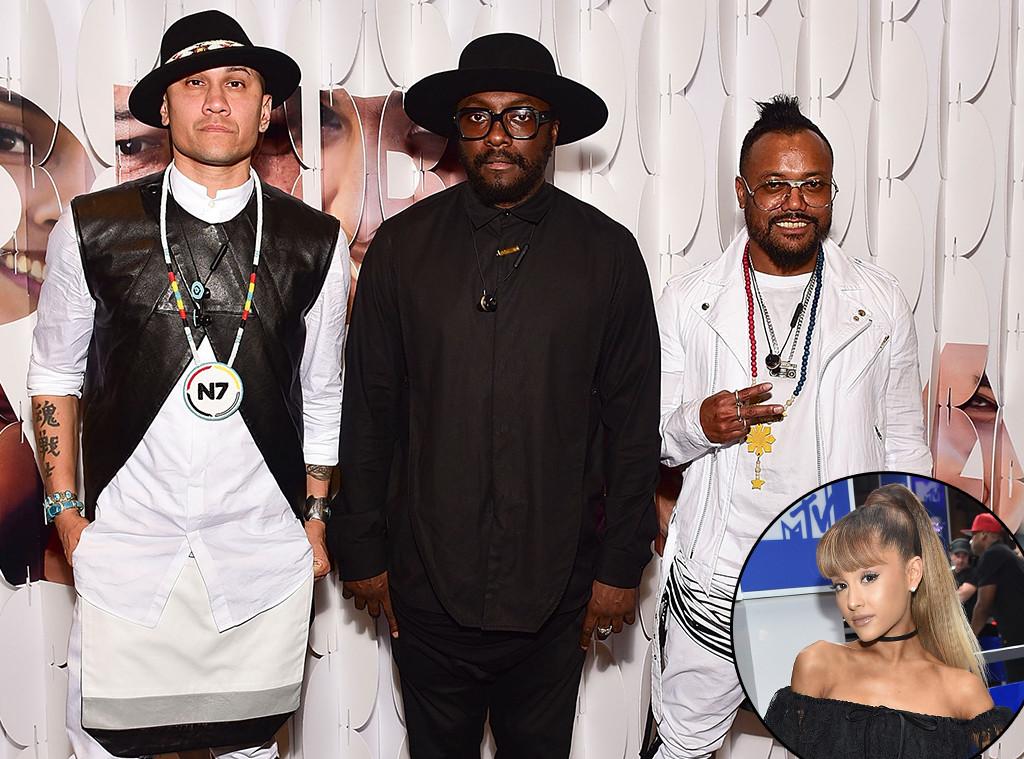 Ariana Grande, Black Eyed Peas