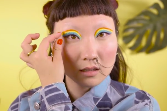 Rainbow Cat Eyeliner, Allure