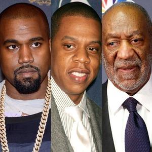 Kanye West, Jay Z, Bill Cosby