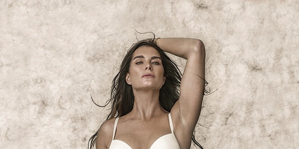 653ccbfe566 Brooke Shields Models Sexy Calvin Klein Lingerie 37 Years After Iconic  Jeans Ads