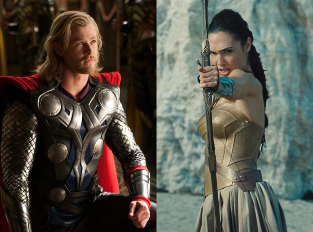 Thor, Wonder Woman