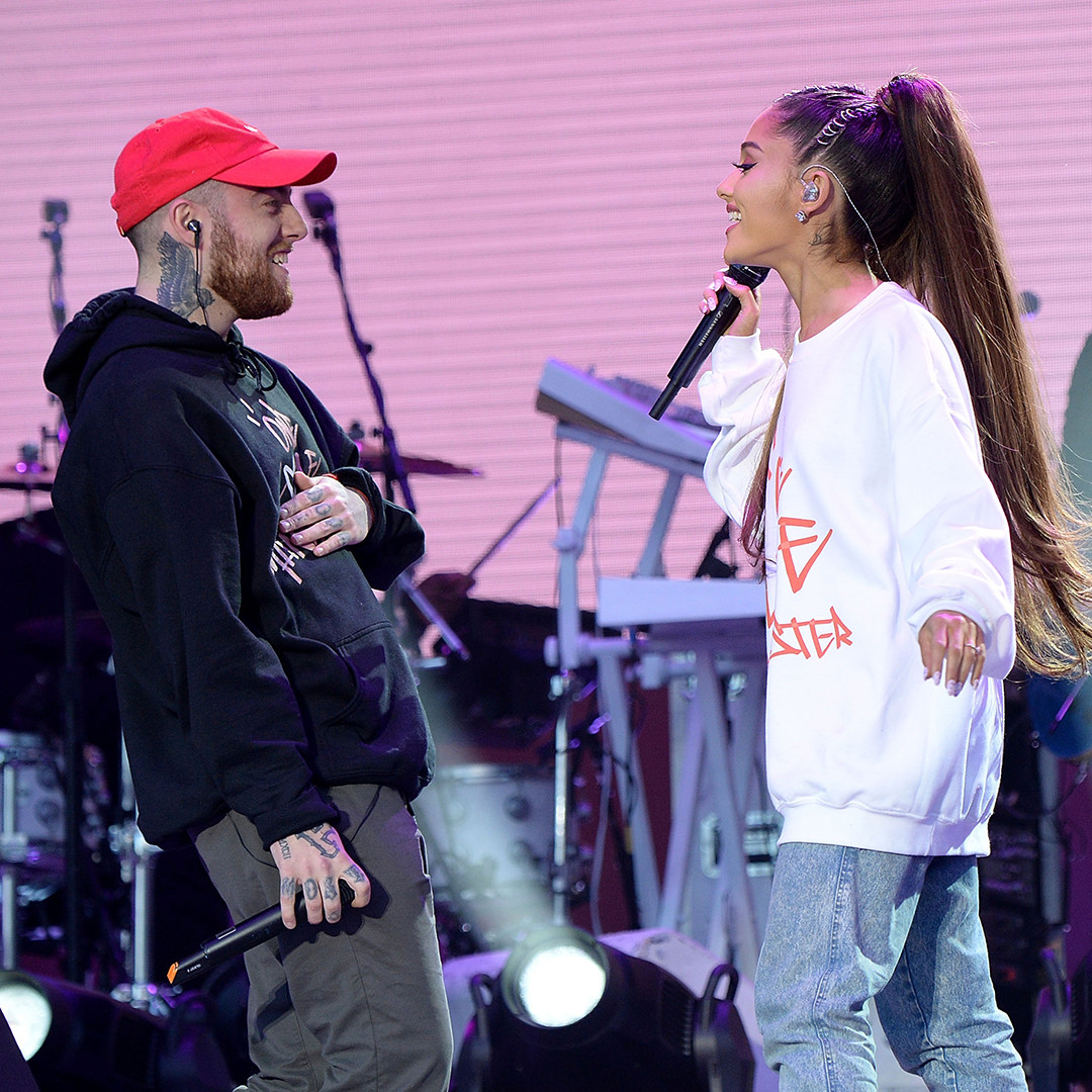 Mac Miller, Ariana Grande, Instagram