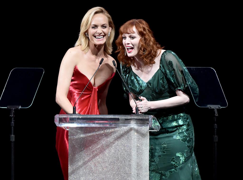 Amber Valletta, Karen Elson, 2017 CFDA Fashion Awards