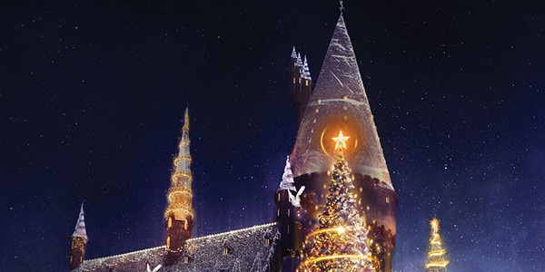 christmas is coming to harry potters wizarding world and other new attractions at universal studios hollywood e news