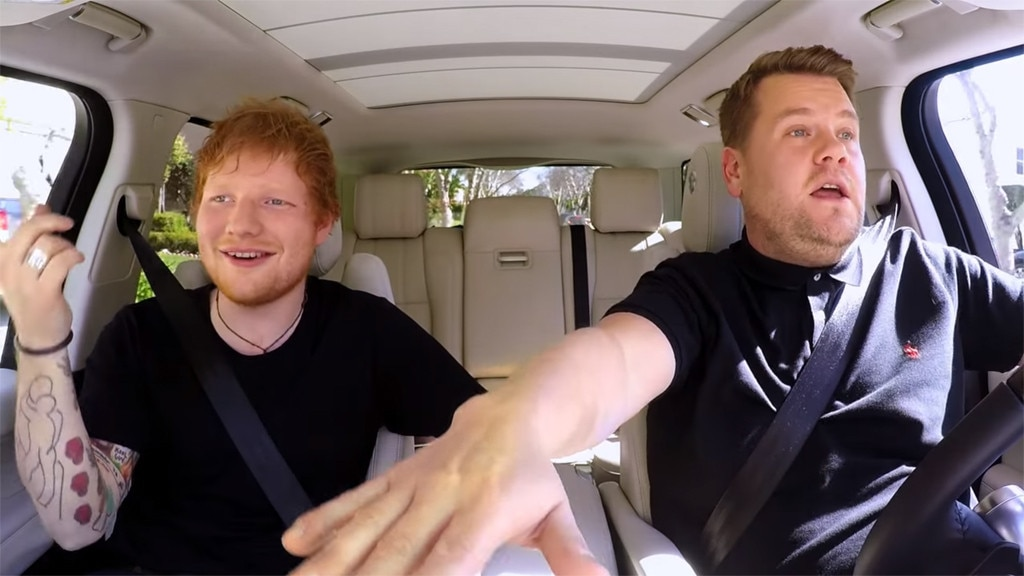 Ed Sheeran, Carpool Karaoke