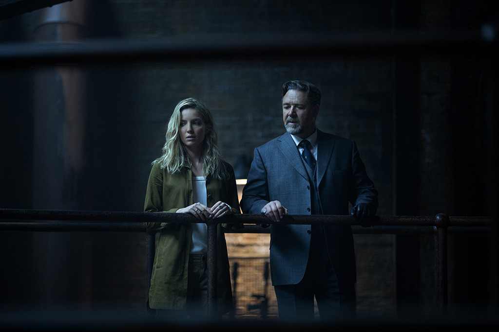 The Mummy, Annabelle Wallis, Russell Crowe