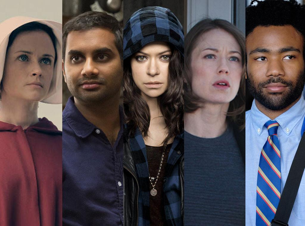 Alexis Bledel, Aziz Ansari, Tatiana Maslany, Carrie Coon, Donald Glover