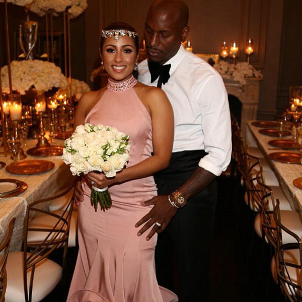 ESC: Tyrese Gibson, Wedding