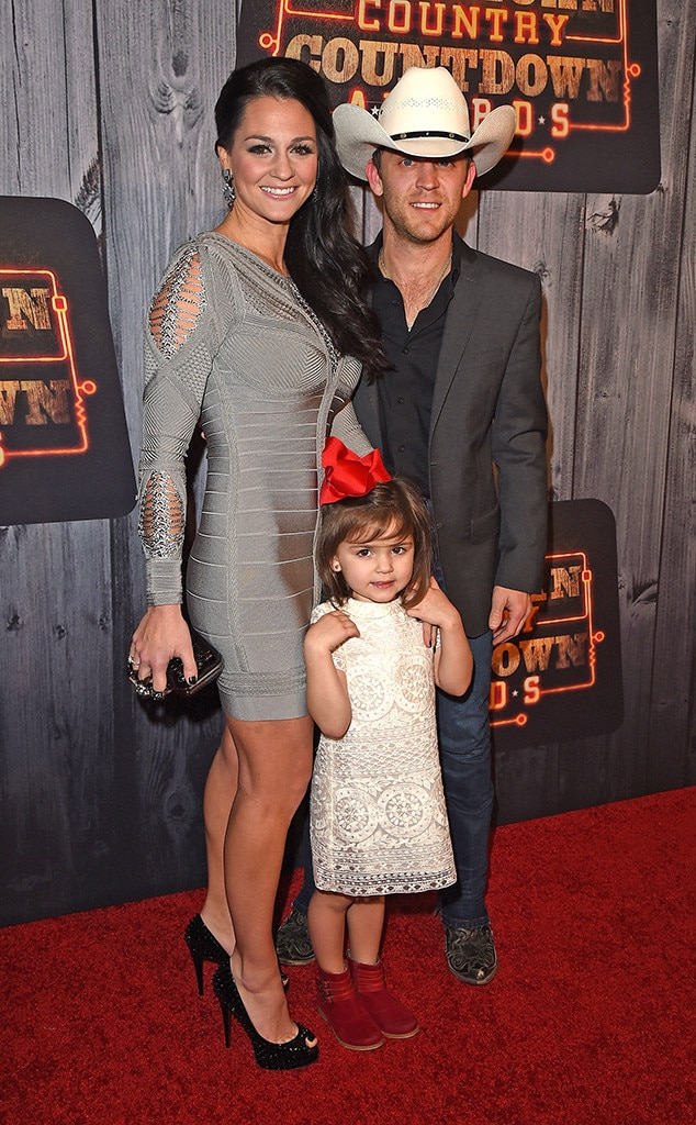 Photo of Justin Moore  & his  Daughter  Ella Kole Moore,