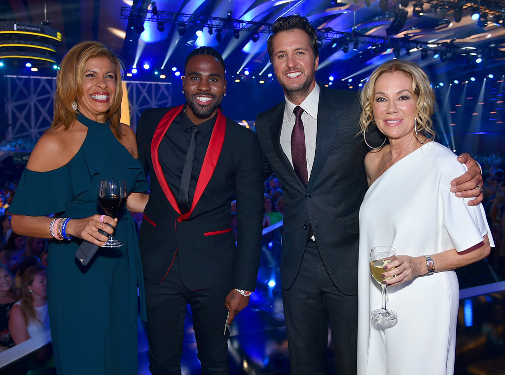 Hoda Kotb, Jason Derulo, Luke Bryan, Kathie Lee Gifford, 2017 CMT Music awards