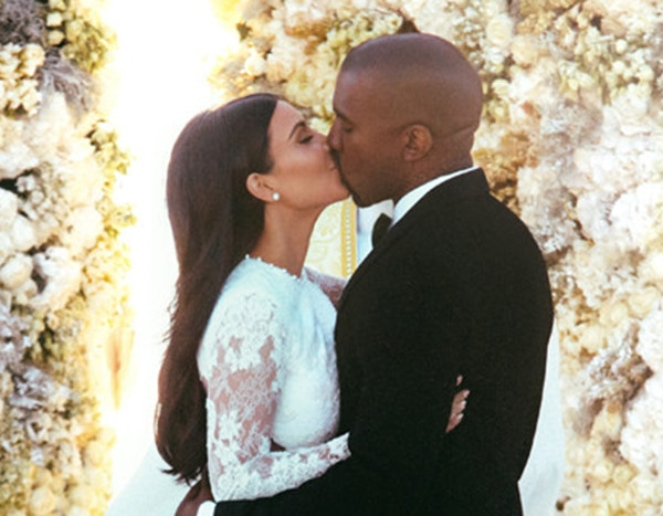 Relive Kim Kardashian & Kanye West's Stunning Italian Wedding on Their 6th Anniversary!