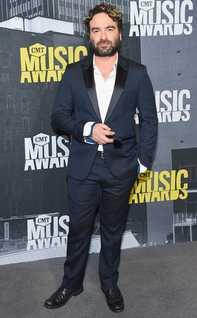 Johnny Galecki from CMT Music Awards 2017: Red Carpet ...
