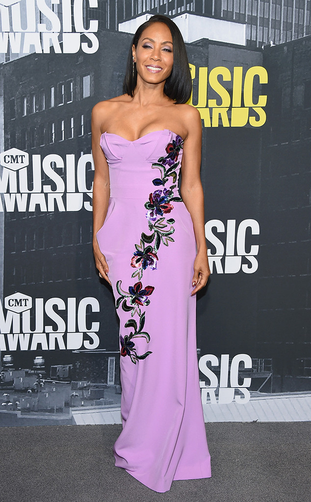 Jada Pinkett Smith, 2017 CMT Music Awards