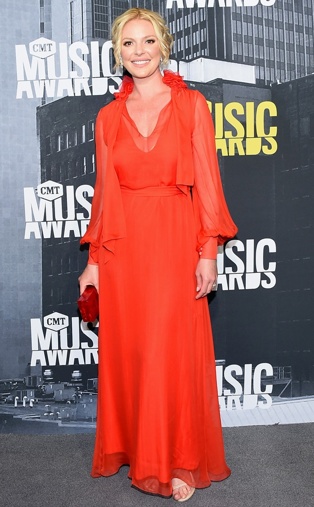 Katherine Heigl, 2017 CMT Music Awards, Couples