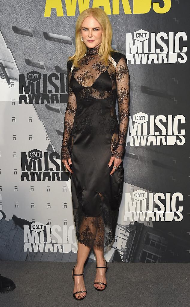 Nicole Kidman, 2017 CMT Music Awards