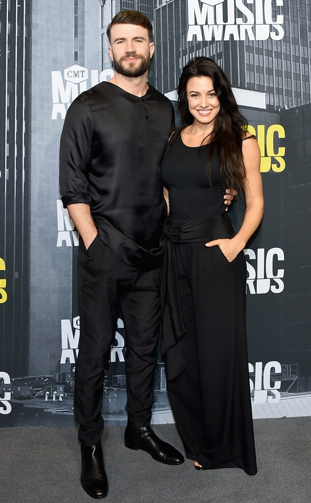 Sam Hunt, Hannah Lee Fowler, 2017 CMT Music Awards