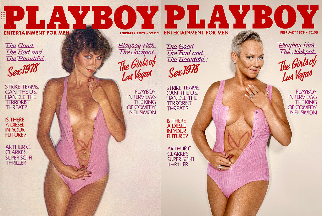Playboy Then and Now Covers, Candice Collins