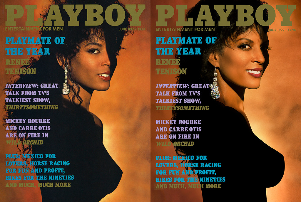 Playboy Then and Now Covers, Renee Tenison