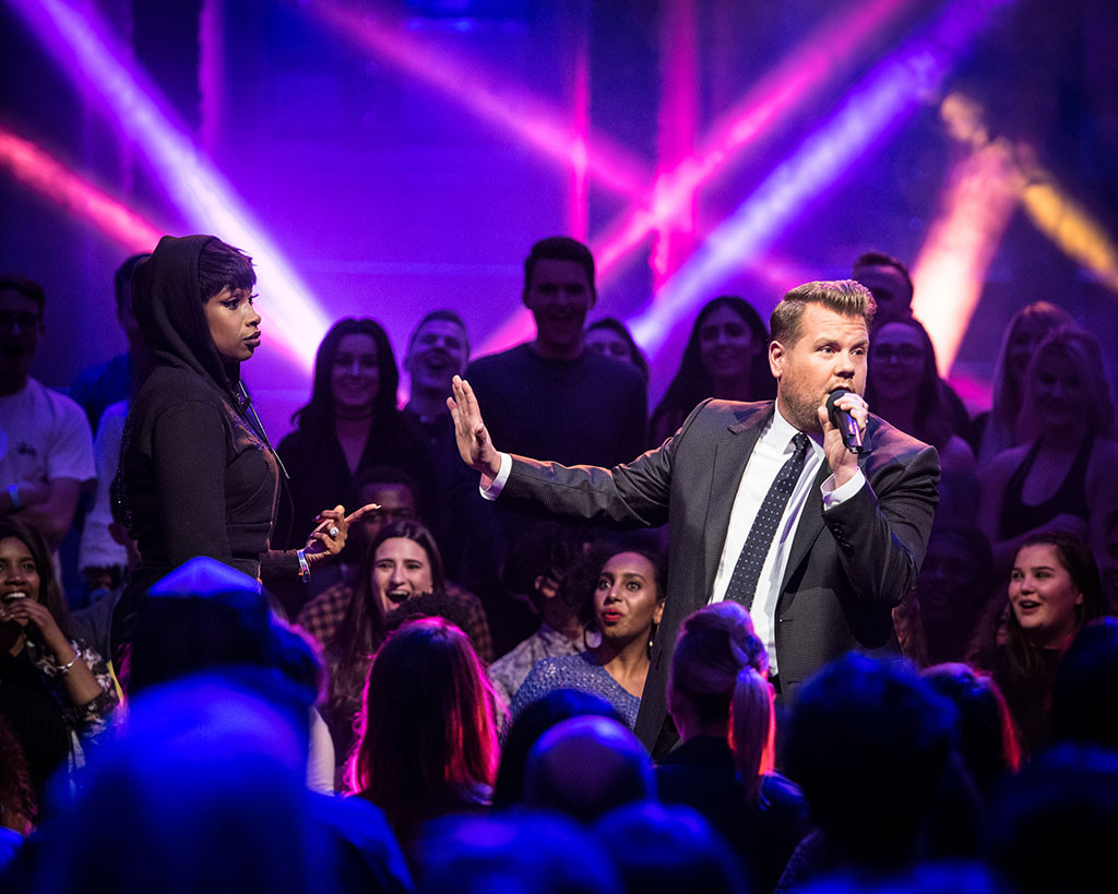 Jennifer Hudson, James Corden, The Late Late Show, Drop the Mic