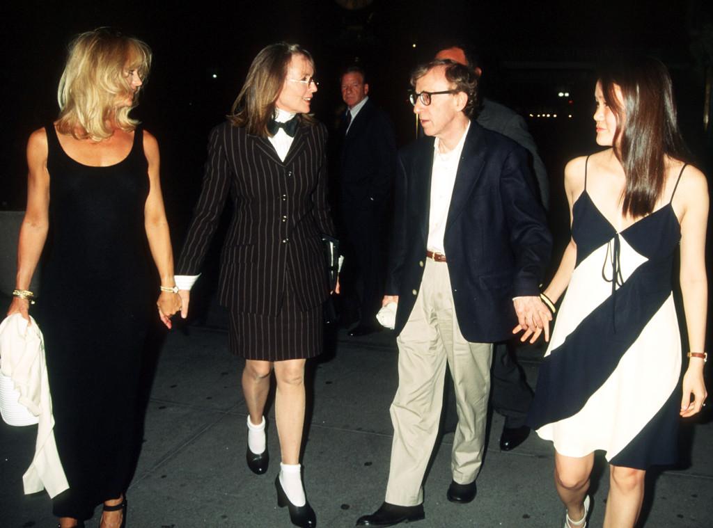 Woody Allen, Soon Yi, Diane Keaton, Goldie Hawn, 1996