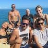 Bradley Cooper, Irina Shyak, Andy Cohen, Anderson Cooper, Benjamin Maisani, Ricky Van Veen, Diane von Furstenberg, Allison Williams