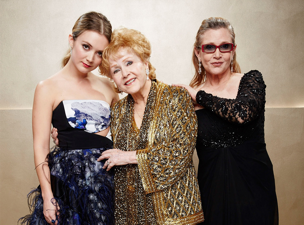 Billie Lourd, Carrie Fisher, Debbie Reynolds