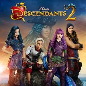 Descendants 2, Sofia Carson, Cameron Boyce, China Anne Mcclain, Dove Cameron, Booboo Stewart
