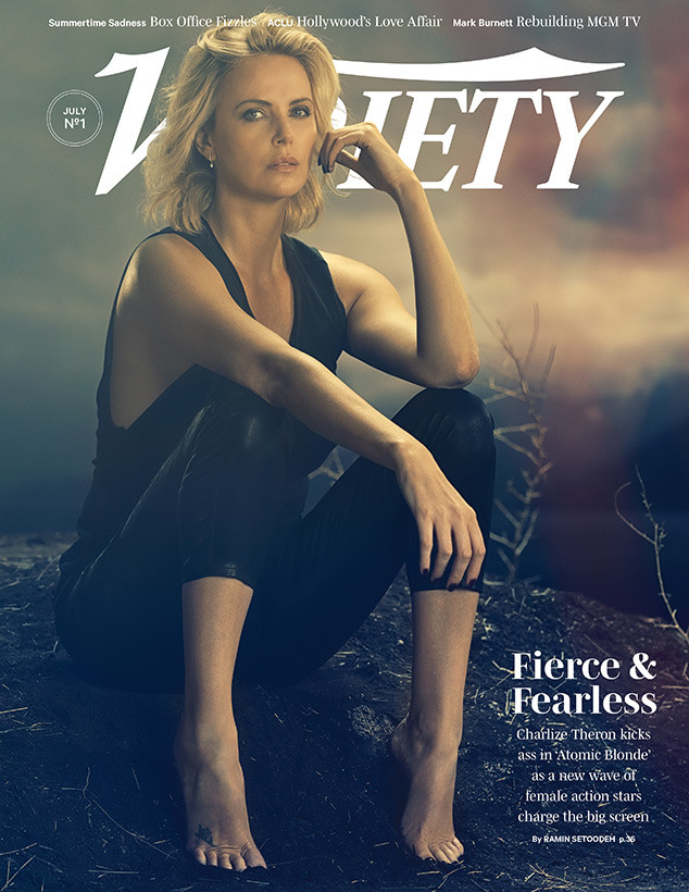 Charlize Theron, Variety