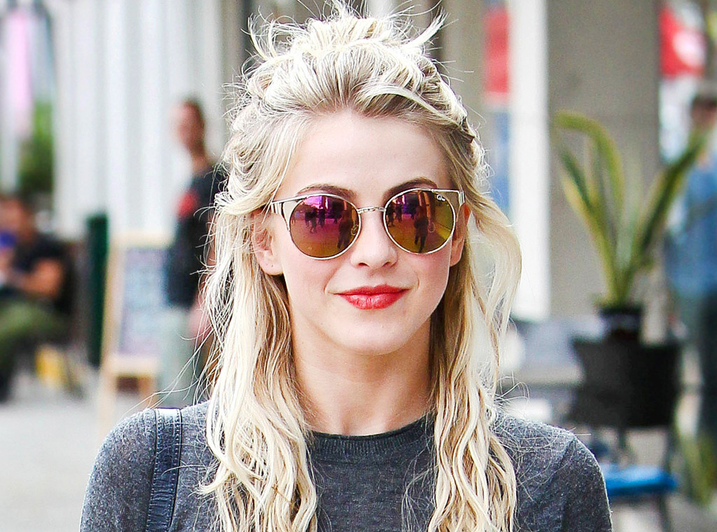 Julianne Hough Other Celebs Prove The Half Bun Hairstyle Is A Go