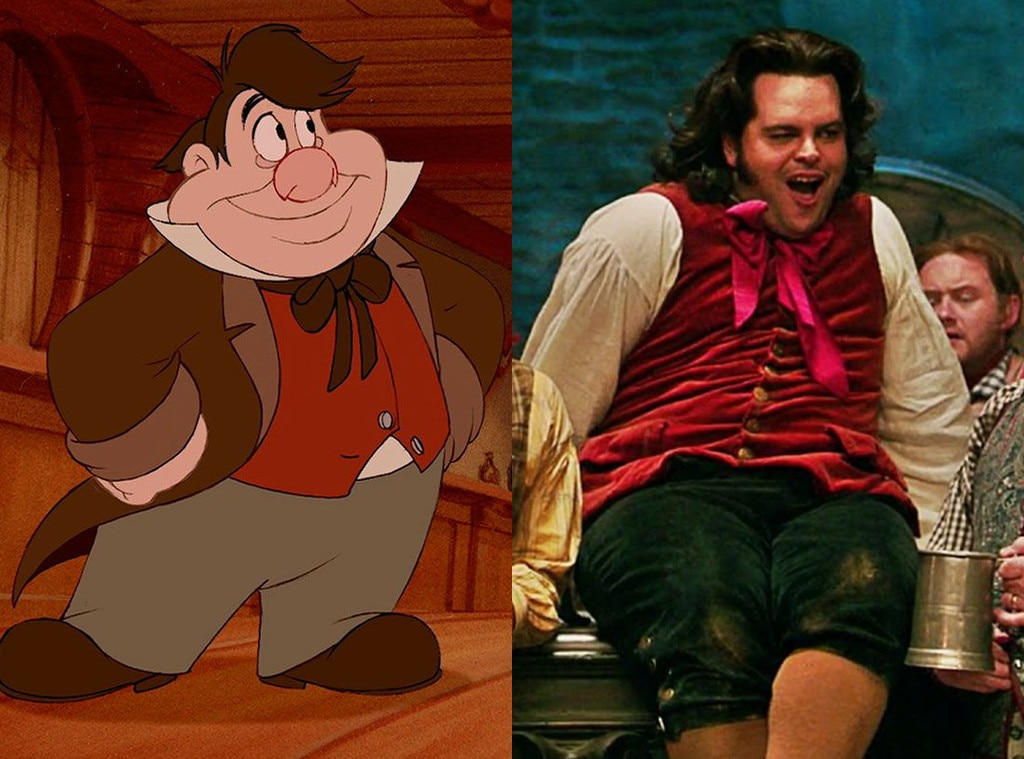 LeFou, Beauty and the Beast, Animated Disney vs. Live Action Disney