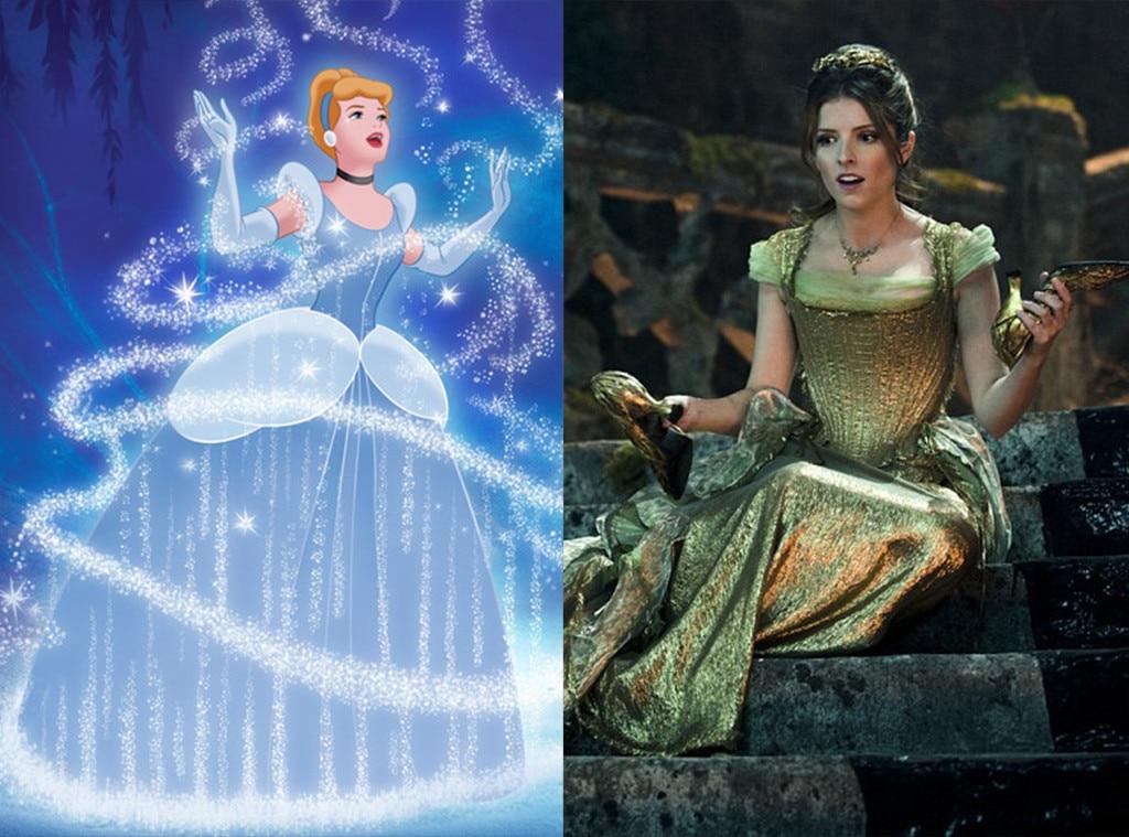 Cinderella, Into The Woods, Animated Disney vs. Live Action Disney