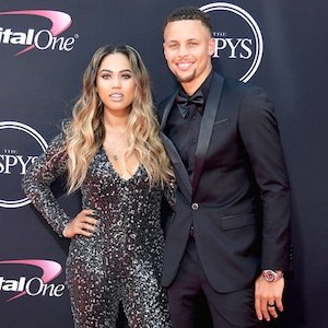 Steph Curry, Ayesha Curr, 2017 ESPY Awards, ESPYS