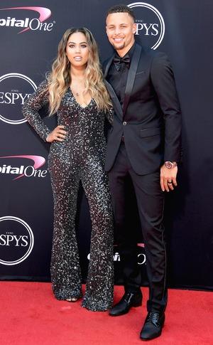 Steph Curry, Ayesha Curr, 2017 ESPY Awards, ESPYS