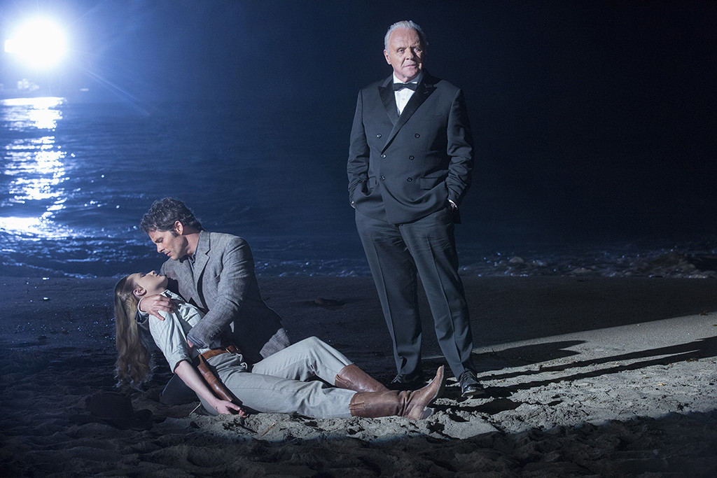 Anthony Hopkins, Evan Rachel Wood, James Marsden, Westworld