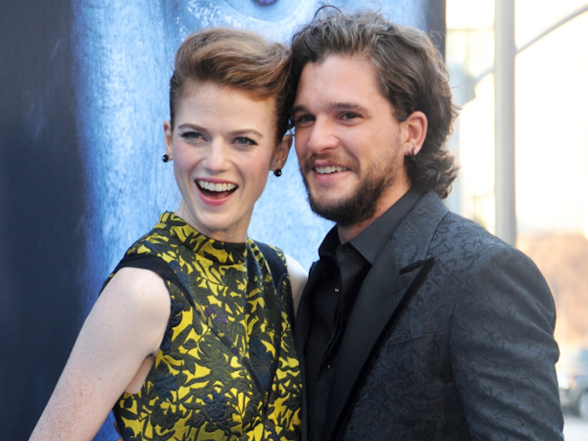 Kit Harington and Rose Leslie's Road to Wedding: Relive Their Private Romance