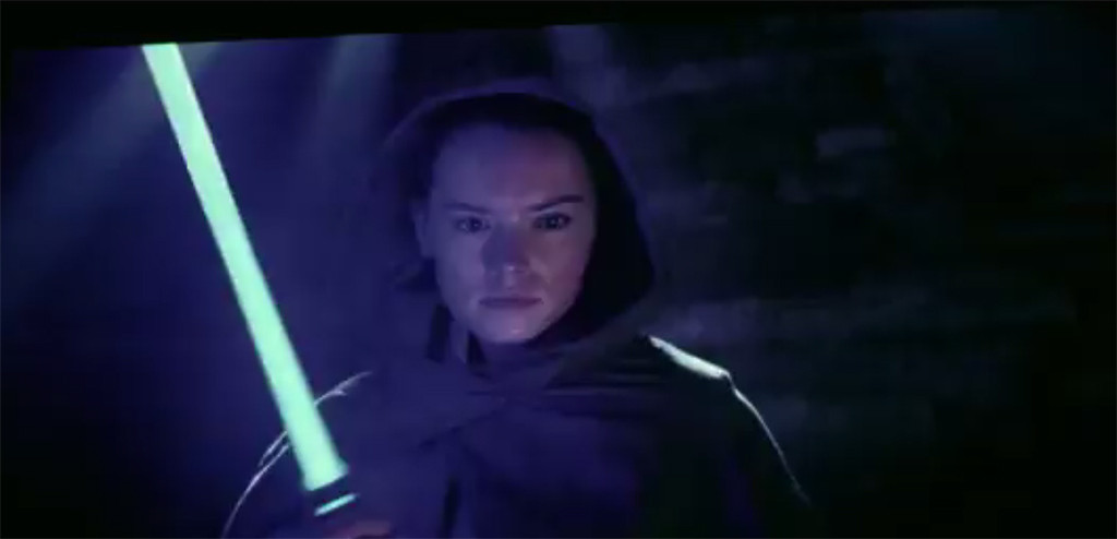 Daisy Ridley, Star Wars: The Last Jedi, Behind-the-Scenes