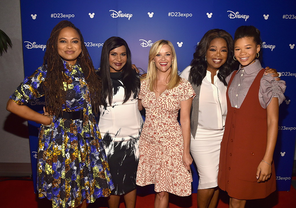 D23 Expo, Ava DuVernay, Mindy Kaling, Reese Witherspoon, Oprah Winfrey, Storm Reid
