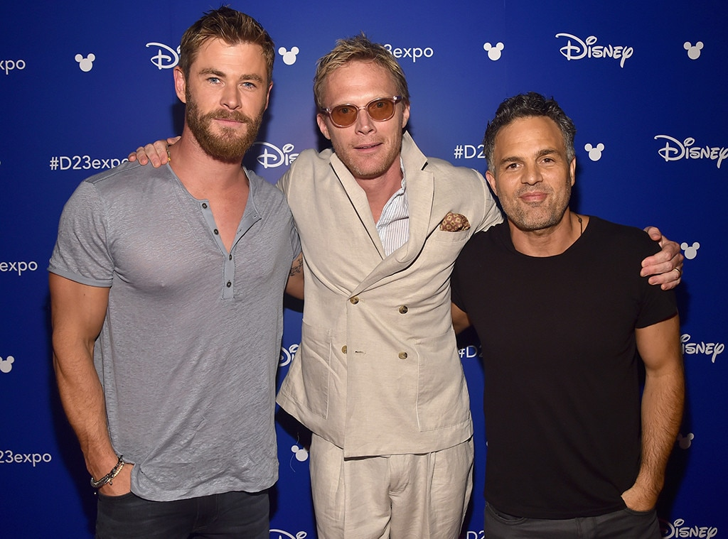 D23 Expo, Chris Hemsworth, Paul Bettany, Mark Ruffalo