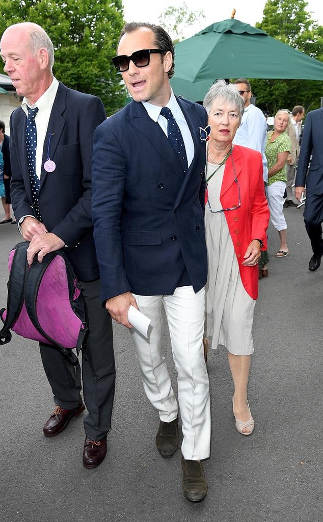 Jude Law, 2017 Wimbledon