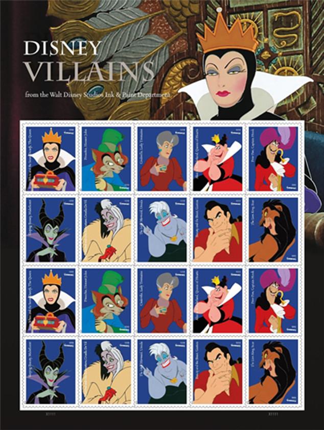 Disney Villains, Forever Stamps