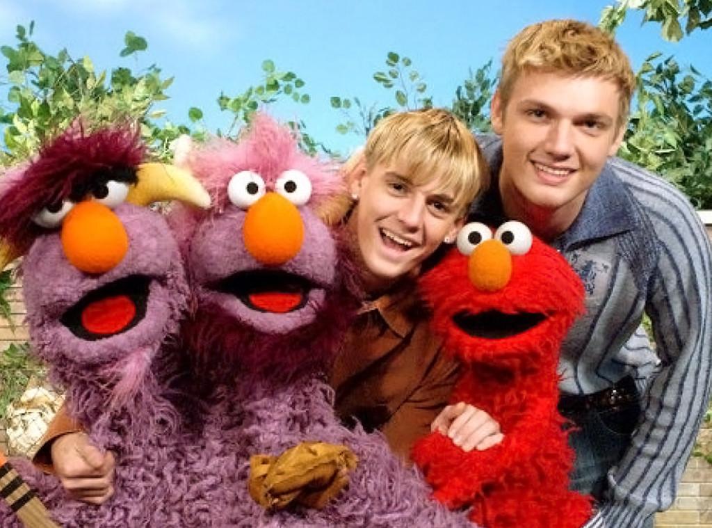 Nick Carter, Aaron Carter, Sesame Street
