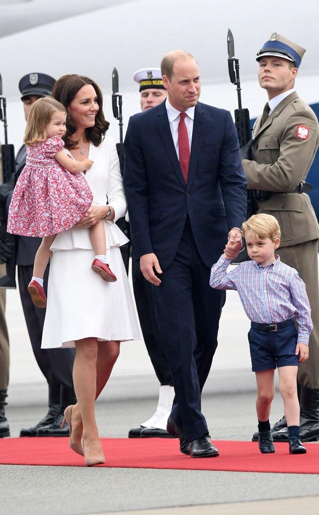 Kate Middleton, Duchess of Cambridge, Prince William, Duke of Cambridge, Princess Charlotte, Prince George